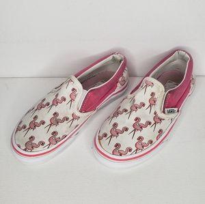 Van's Flamingo Slip On Toddler